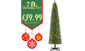 Looking For A Christmas Tree Right Now There Is Great Michaels Deal 7 Ft Pre Lit Pencil Artificial Just 3999 Shipped Reg