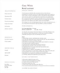 Assistant Store Manager Resume Sample Retail Template Examples