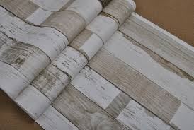 Designer Rustic Embossed Wood Panel Wallpaper Vintage Stripe Feature Wall Paper Roll Bedroomliving Room Home Decor In Wallpapers From Improvement On