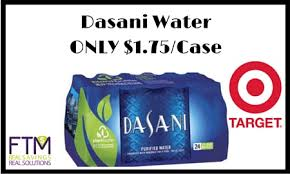 Target Dasani Water For ONLY 175 Per Case 07 Bottle