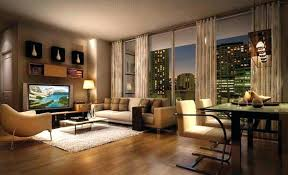 Cute Apartment Decor Nice Decorated Apartments Modern Living Room Decoration