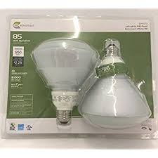 Self Ballasted Lamp 61y6 by Tcp Cfl Covered R40 120w Equivalent Soft White 2700k Flood