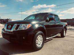 100 Nissan Frontier Truck Cap Used 2015 SV Crew In Black For Sale In