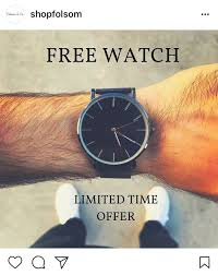 The Watch Does Actually Function Seemingly Against All Odds It Also Comes In Other Colors As Seen Shopfolsoms Instagram Promotion From June 2017