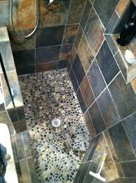 cleaning river rock shower floor novic me