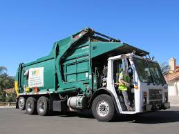 Waste Management Garbage Trucks Of San Diego - YouTube