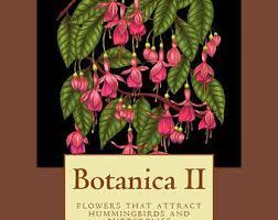 Botanica II Flowers That Attract Hummingbirds And Butterflies The Digital Download Printable Pdf