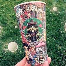 Drawing Art Awesome Follow Back Starbucks Creative Artist Artwork Amazing Cup Marker For I Instant Follo