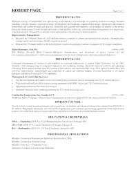 Sample Resume For Executive Assistant To Examples