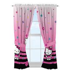 hello kitty hello ombre girls bedroom curtain panels walmart com