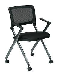 Office Star Breathable Flexible Mesh Back Folding Nesting Chair With Padded  Fabric Seat And Casters, 2-Pack, Black With Titanium Frame Bonas Meeting Room Mesh Folding Chair Traing Stackable Conference Chairs With Casters Buy Cheap Chairsoffice Visitor Chair With Armrests On Casters Tablet Gunesting Contemporary Visitor Stackable Amazoncom Office Star Deluxe Progrid Breathable Back Freeflex Coal Seat Armless 2pack Titanium Finish Kfi Seating Poly Stack 300lbs Alinum Mobile Shower Toilet Commode Smith System Uxl Httpswwwdeminteriorscom Uniflex Four Leg Artcobell Transportwheelchair Ergonomic High Executive Swivel