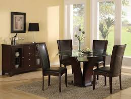 cabinet round glass kitchen table atwood round glass dining