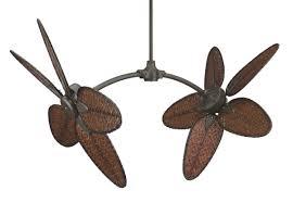 Rattan Ceiling Fans Australia by Fresh Dual Head Ceiling Fan With Light 6880