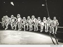 Lunchtime Atop A Death Star