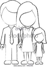 Figure Family With Their Dougther Icon