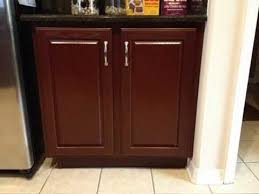 Rustoleum Cabinet Transformations Colors Youtube by N Hance Color Change Oak To Cabernet Youtube