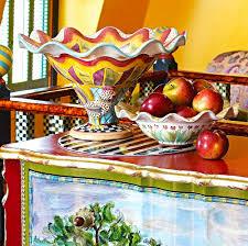 Mackenzie Childs Painted Pumpkins by Fall Into Wonderland Mackenzie Childs U2014 Très Haute Diva
