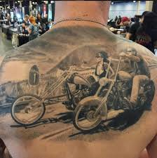 Harley Davidson Tattoo By Francisco Sanchez Inked Inkedmag Ink