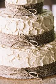 Image Of Rustic Wedding Cakes With Burlap