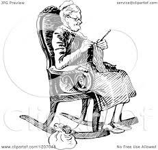 Clipart Of A Vintage Black And White Old Lady Knitting - Royalty ... Hot Chair Transparent Png Clipart Free Download Yawebdesign Incredible Daily Man In Rocking Ideas For Old Gif And Cute Granny Sitting In A Cozy Rocking Chair And Vector Image Sitting Reading Stock Royalty At Getdrawingscom For Personal Use Folding Foldable Rocker Outdoor Patio Fniture Red Rests The Listens Music The Best Free Clipart Images From 182 Download Pictogram Art Illustration Images 50 Best Collection Of Angry