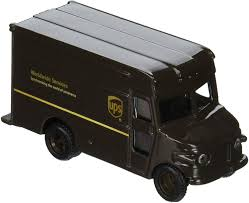 100 Ups Truck Toy UNITED PARCEL SERVICE UPS 4 P600 Package Car Delivery