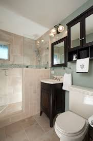 mirror frame bathroom traditional with mirrored storage glass tile