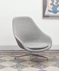 AAL 91 - HAY Contemporary Lounge Chair Leather Metal With Armrests Dc Lounge Chair Metal Arm Dark Grey Vinyl Upholstery Patio Festival Rocking Outdoor Gray Cushion 2pack Baker Living Room Riley Bkrba6584c Walter E Smithe Fniture Design Beige Nova Sled Black Armchair Bequest Accent Gold Martin Eisler Carlo Hauner 1950s And Rope Ottoman Pair Italian Mid Century Chairs With New Modern Newest Europe Sofa Single