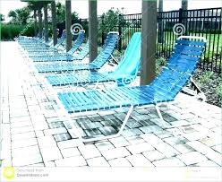 In Pool Lounge Chair Lounger Chairs Cushions Chaise