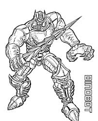 Image Of Idea Transformers Coloring Pages