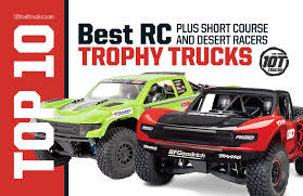 RC Trophy Trucks & Short Course Trucks For Bashing Or Racing