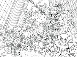Superhero Coloring Pages Online Super Hero Squad Printable Superheroes Images Marvel Medium Size