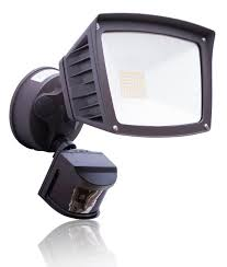 40 watt led motion sensor light 4 800 lumens led flood light