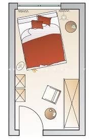 stilvolle anordnung eines kleinen schlafzimmers