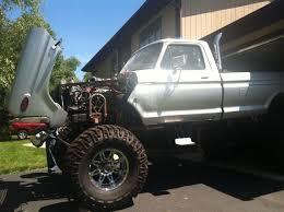 78 FORD F250 MONSTER TRUCK MANY EXTRAS & BRAND NEW PARTS 46