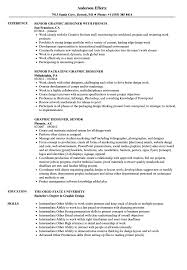 Graphic Designer / Senior Designer Resume Samples | Velvet Jobs Graphic Design Resume Guide Example And Templates For 2019 Create Examples Picture Ideas Your Job Designer Cv Format Free Download Template Word 20 Best Designed Creative 17 Ui Samples And Cv Visualcv Sample Velvet Jobs Fresher By Real People