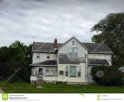 100 Picture Of Two Story House Old White With Peeling Paint Stock Image