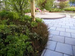 How To Paving Lay Slabs Patio Garden Construction Design
