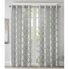 Navy Geometric Pattern Curtains by Geometric Curtains U0026 Drapes You U0027ll Love Wayfair