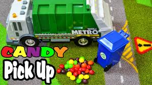Garbage Truck Video - Colorful Candy Pickup - YouTube Video Dailymotion Trash Truck Toys Tecstar Garbage Vehicles Trucks Cartoon For Kids Recycling Green Youtube Channel Indonesia Lagu Anak Factory With Blippi Educational Toy Videos Children For Car Song Babies By Amazoncom Bruder Man Side Loading Orange Garbage Truck L To The Diggers Truck Excavator