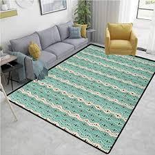 de türkis obst teppich pads retro rund eckig