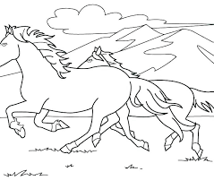 Free Printable Coloring Pages Realistic Horses Of A Horse Head Ho