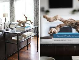 How To Style A Console Table Pottery Barn Tanner Coffee Table Style Bitdigest Design Famous Knock Off Townsend For Sale Round Pertaing To Console Polished Nickel Finish Au Nesting Side Tables Bronze Uncategorized Ideas Interior Decor Griffin Au And Gorgeous 61 Inspiring Used