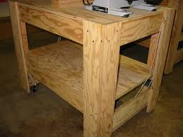 Portable Tool Table Sections