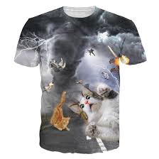 cat t shirts tshirts new fashion cat t shirt print animal 3d t