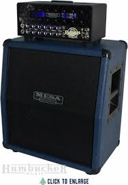 Mesa Boogie Cabinet Speakers by Mesa Boogie Mini Rectifier And Matching Slanted 1x12 Speaker Cab