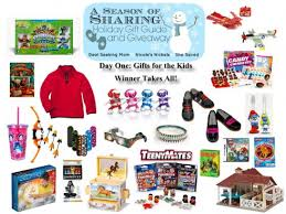 Mom Takes Candy From Kids by Day 1 A Season Of Sharing Giveaway U2013 Gifts For The Kids