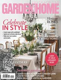 100 House And Home Magazines South African Garden And December 2018 Free