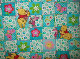 Winnie The Pooh Fabric Nursery by Large Blanket Winnie The Pooh Or Child By Jamcraftsandthings