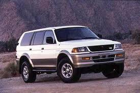 All Mitsubishi SUV 4WDs