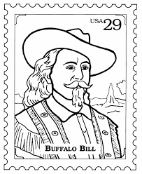 BlueBonkers Postage Stamp Coloring Pages